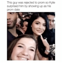 Goals, Kardashians, and Memes: This guy was rejected to prom so Kylie  surprised him by showing up as his  prom date GOALS! GOALS! GOALS! follow me (@kardashiianrelate) for more ⛅️ - - - - kyliejenner kimkardashian khloekardashian kourtneykardashian kendalljenner kim khloe kourtney kylie kim kendall krisjenner kuwtk likesreturned khlomoney kimk kimye kris instamood instagood followbackalways west disick kardashian jenner kardashians jenners kingkylie northwest saintwest goals