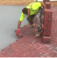 Lay's, Pro, and This: This guys lays bricks like a pro... I can't stop watching 😱  Credit: ViralHog