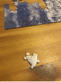 Happy, Faces-In-Things, and Puzzle: This happy little puzzle piece https://t.co/ZTrntX1fG5