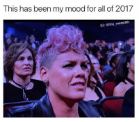 Same tbh @the_meredith 😏 goodgirlwithbadthoughts 💅🏼: This has been my mood for all of 2017  IG: @the_meredith Same tbh @the_meredith 😏 goodgirlwithbadthoughts 💅🏼