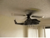 Funny, Helicopter, and This: This helicopter fan