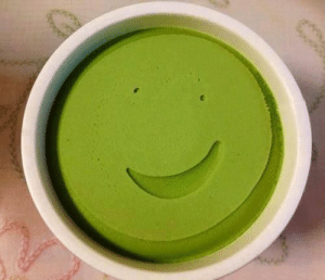Happy, Ice Cream, and Faces-In-Things: This ice cream is very happy :D https://t.co/Mfb9nrnxmY