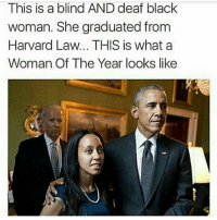 "Memes, The Diplomats, and Harvard: This is a blind AND deaf black  woman. She graduated from  Harvard Law... THIS is what a  Woman Of The Year looks like ""The Eritrean-American was born in California after her mother escaped Eritrea in the early 1980s. Today, Girma is a successful attorney who advocates for civil rights of people with disabilities, reported the Diplomat News Network. She says that she is proof that if you believe that you can achieve a goal, then you will."" She's amazing this is black excellence at its finest -Tiara 💫 💫 💫 💫 blackhistorymonth feminist feminism equality humanrights prayfortheworld girls smashthepatriarchy endracism lgbtq gayisokay pansexual endsexism blacklivesmatter intersectionalfeminist feministaccount selflove blackpositivity positivity goodvibes prochoice prolgbt profeminism endbodyshaming endslutshaming womansmarch fuckdonaldtrump notmypresident trumpsamerica nomuslimban"