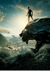 Love, Memes, and Black: This is a collection of all the official promotional and concept art for the movie Black Panther.  (Nerds Love Art)