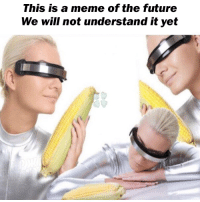 Future, Meme, and Reddit: This is a meme of the future  We will not understand it yet