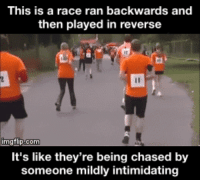 Bilbo, Gif, and Race: This is a race ran backwards and  then played in reverse  imgtlip.com  It's like they're being chased by  someone mildly intimidating 15+-+1+%282%29.gif (260×234)