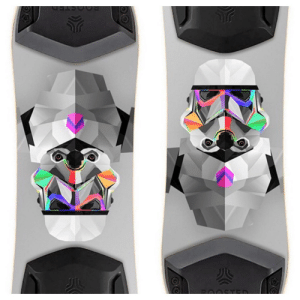 "Christmas, Cool, and Board: This is a sticker for a Boosted Board that I got for my son for Christmas. He opened it upside down and said ""hey cool, a koala with a turban!"""