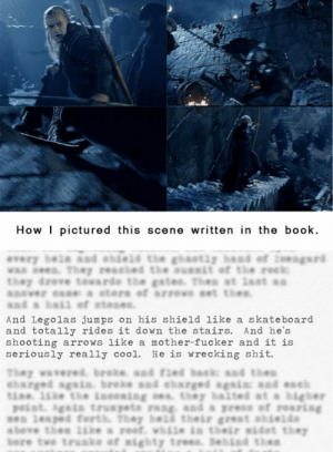 This is actually how Peter Jackson read The Hobbit…http://advice-animal.tumblr.com/: This is actually how Peter Jackson read The Hobbit…http://advice-animal.tumblr.com/