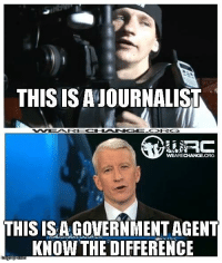 ~KabalMurked: THIS IS AJOURNALIST  KORG  WEARECHANGE.ORG  THIS ISACOVERNMENTACENT  KNOW THE DIFFERENCE  nngf ~KabalMurked