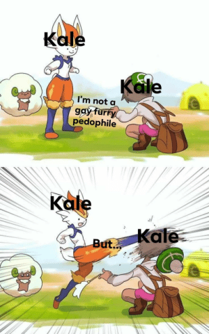 This is an attack against people named kale: This is an attack against people named kale
