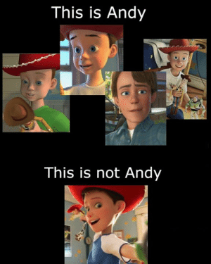 Memes, 🤖, and This: This is Andy  This is not Andy