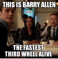 Barry Allen The Fastest