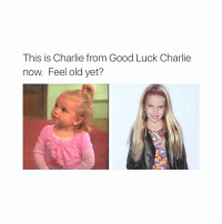 Double tap if you remember 😮: This is Charlie from Good Luck Charlie  now. Feel old yet? Double tap if you remember 😮
