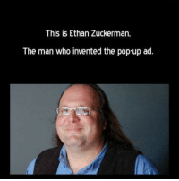 Memes, Pop, and 🤖: This is Ethan Zuckerman,  The man who invented the pop-up ad. 😡😡😡😡😡😡😡😡😡