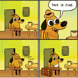 This is fine: This is fine