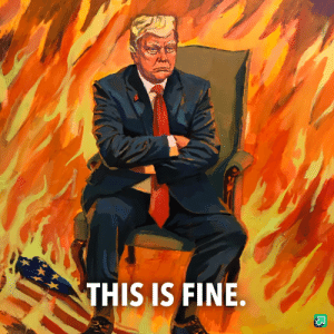 """My take on """"this is fine"""": THIS IS FINE. My take on """"this is fine"""""""