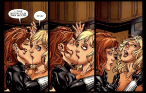 Black Widow: Deadly Origin: --THIS  IS FOR YOUR  OWN GOOD.  MHM! Black Widow: Deadly Origin