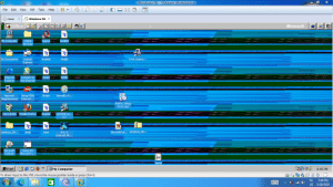This Is From Windows 98 VM And I Use The 2019 Windows 10 Wallpaper and This Happens: This Is From Windows 98 VM And I Use The 2019 Windows 10 Wallpaper and This Happens