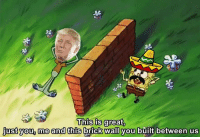 Brick, You, and This: This is great.  justyou, me and this brick wall you built between us Wall