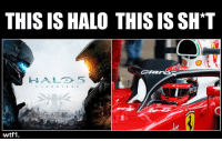 The real Halo f1 formula1 wtf1: THIS IS HALO THIS IS SH'T  HALD 5  G U ARDIAN S  wtf1 The real Halo f1 formula1 wtf1