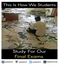 Twitter: BLB247 Snapchat : BELIKEBRO.COM belikebro sarcasm meme Follow @be.like.bro: This Is Hovny We Students  Study For Our  Final Exams  @DESIFUN  @DESIFUN  @DESIFUN  DESIFUN.COM Twitter: BLB247 Snapchat : BELIKEBRO.COM belikebro sarcasm meme Follow @be.like.bro