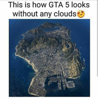 Friday, Internet, and Lmao: This is how GTA 5 looks  without any clouds GeT oVeR hErE Happy Friday everyone 🤘🏼☀️ Been following for a bit? Check out my backup (@memerzone) for even more memes 🔥 - Tags (Ignore) 🚫 GamingPosts CallOfDuty Memes Cod Hilarious Gaming Tumblr FunnyPosts Xbox Lmao Playstation XboxOne Internet TwitterPosts CSGO Gamer haha Follow Meme InfiniteWarfare Spongebob Shook YouTube Relatable Triggered DankMemes