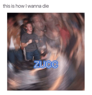 https://t.co/yfbuVtCUAx: this is how I wanna die  ZUCC https://t.co/yfbuVtCUAx