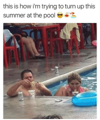 This is my beach body goal @djbewbz: this is how i'm trying to turn up this  summer at the pool ( This is my beach body goal @djbewbz