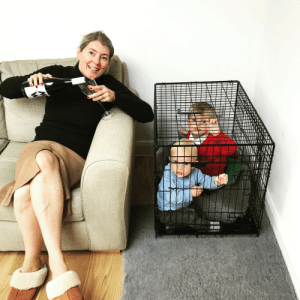 Funny, Kids, and How: This is how my Mum babysits my kids. Shes onto something here. via /r/funny https://ift.tt/2NrunQx