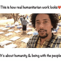 Family, Memes, and Money: This is how real humanitarian work looks  It's about humanity & being with the people So sad to leave Somalia... This is a people's movement, we have been showing you from start to finish, where your money goes and the people who you are helping ❤️🇸🇴We said we are accountable to you, when we show you the data at the end of the famine you will be happy :) I put myself out there to make sure we worked with the right people. All of us at lovearmy really care. We got Somalis in Somalia, helping Somalis in their time of greatest need. Delivering your blessings. Be proud of your work family lovearmyforsomalia (shot and edited by me)