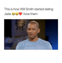 Dating, Family, and Love: This is how Will Smith started dating  JadaI love them i love this family 😭
