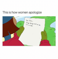 Arthur, Ass, and Winter: This is how women apologize  Pear Arthur  stop being mad  me Tryna work on my winter ass jiggle