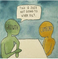 If you are comfortable right now, rethink your situation 🤔💡 codysperber cleverinvestor mindset success: This is JusT  NOT GOING TO  WORK OUT.  GROWTH  COMFORT If you are comfortable right now, rethink your situation 🤔💡 codysperber cleverinvestor mindset success