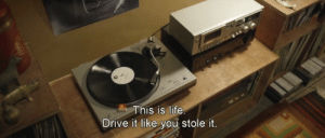Life, Drive, and You: This is life  Drive it like you stole it