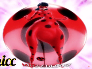 This is like a chicken, thicc versoon of Ladybug (from Miraculous) I can't take it 😂 (this is a screenshot): This is like a chicken, thicc versoon of Ladybug (from Miraculous) I can't take it 😂 (this is a screenshot)
