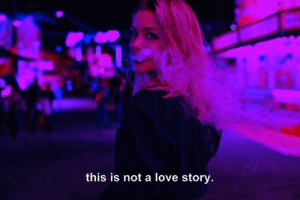 love story: this is not a love story.
