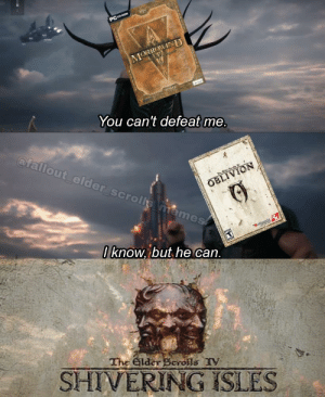 This is not Skyrim meme, but it is meme for older TES fans: This is not Skyrim meme, but it is meme for older TES fans