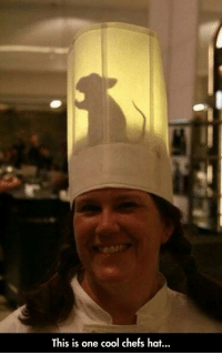 <p>Chef Hat</p>: This is one cool chefs hat... <p>Chef Hat</p>