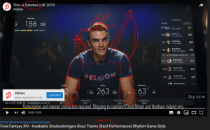Internet, New York, and Liverpool F.C.: This is Peloton UK 2019  P  Peloton  LEADERBOARD  156  All 14,678  72%  1039  F-20's London  Ashley 11  F-40s-New York  357  1040  HustleKat  355  1041  F-30's Calgary  RoadRyan  352  1,042  45 MIN PERSONAL RECORD (465)  JennyRides  351  1,043  F-30's-Liverpool  Sophie365  344  1,044  F-30's-Newcastle  PELOON  Jacksonz5  M-30's Cambridge  339  1045  Matthew324  CADENCE  RESISTANCE  263  63  2  BEST  68  112  228  335  45  Peloton  Learn More  Skip Ad  www.onepeloton.co.uk  CALORIES (ka0  DISTANCE (mi)  TOTAL OUTPUT (k)  Ad 2 of 2.0:25  onepeloton.co.uk  350  20  13.1  351  Šubscrintion and internet.connection required Shipping to mainland Great Britain and Northern Ireland only  0:05/0:30  #FFXIV #BardPerformance #Shadowbringers  Final Fantasy XIV - Insatiable Shadowbringers Boss Theme (Bard Performance) Rhythm Game Style You can't tell me this was a coincidence