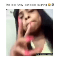 Funny, Memes, and 🤖: This is so funny I can't stop laughing  IG: @thefemalelife Follow me (@bitchy.code) for more