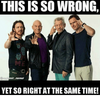 Fucking, Lmao, and Love: THIS IS SO WRONG,  YETSORIGHTAT THE SAME TIMEd I fucking love this post not to repost lmao. - Hawkman magneto professorx xmen marvel