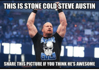 Gimme a Hell Yeah - Stone Cold Steve Austin  www.youtube.com/londonhawthorne: THIS IS STONE COLD STEVE AUSTIN  SHARE THIS PICTURE IF YOU THINK HE'S AWESOME Gimme a Hell Yeah - Stone Cold Steve Austin  www.youtube.com/londonhawthorne