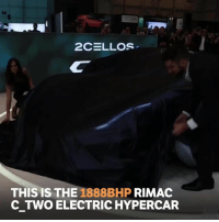 Memes, Monster, and 🤖: THIS IS THE 1888BHP RIMAC  C TWO ELECTRIC HYPERCAR This thing is an absolute monster!