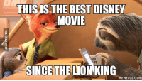 Lion King: THIS IS THE BEST DISNEY  MOVIE  SINCE THE LION KING  MEMEFUL COM