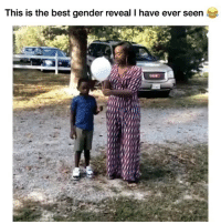 Ironic, Best, and Time: This is the best gender reveal T have ever seen This is all time! 🤣 (@forkchair)