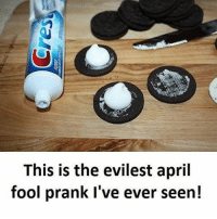 Memes, Prank, and April: This is the evilest april  fool prank I've ever seen!