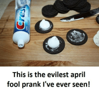 Prank, April, and This: This is the evilest april  fool prank I've ever seen!