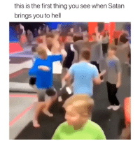 Ali, Memes, and Hell: this is the first thing you see when Satan  brings you to hell Where's Ali