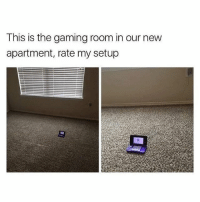 Memes, Gaming, and 🤖: This is the gaming room in our new  apartment, rate my setup overkill much?