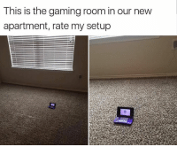 Funny, Nintendo, and Gaming: This is the gaming room in our new  apartment, rate my setup Nintendo pulls through again